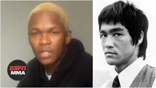 Israel Adesanya describes Bruce Lee's influence on MMA | Inside 30 for 30: Be Water