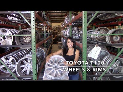 Factory Original Toyota T100 Rims & OEM Toyota T100 Wheels – OriginalWheel.com