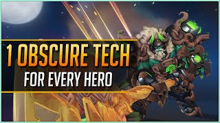 1 OBSCURE TECH for EVERY HERO