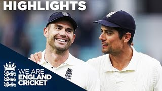 Anderson Becomes Most Prolific Fast Bowler EVER! | England v India 5th Test Day 5 2018 - Highlights
