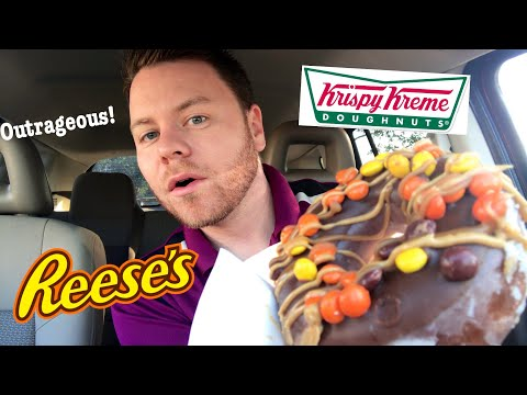 Krispy Kreme Reese's Outrageous Chocolate Donut Review
