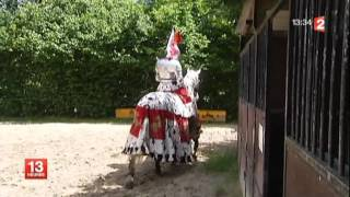 preview picture of video 'Reportage Puy du Fou, France 2 , du lundi 10 au vendredi 14 septembre 2012'