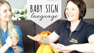 HOW TO TEACH BABY SIGN LANGUAGE | The First 9 Basic Signs