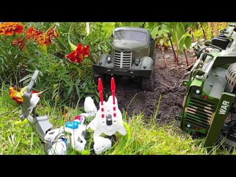 Transformer Wars: First Blood ! EC01, JJRc Q60 and WPL Soldier
