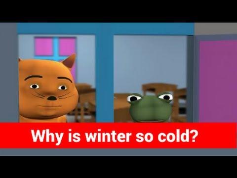 Γιατί το χειμώνα έχει τόσο κρύο; Εξήγηση με πολύ απλά λόγια για παιδιά
