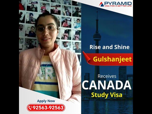 Canada study visa received