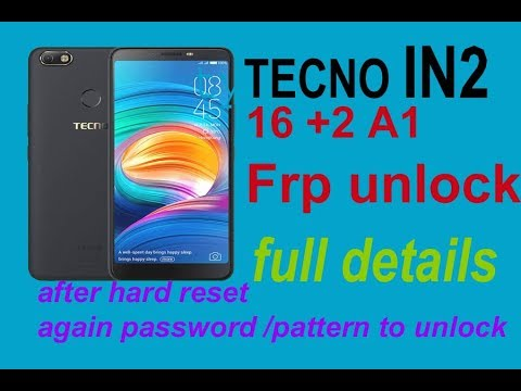 Tecno iN2 MT6739 FRP without box SP Flash Tool Method just 15 kb