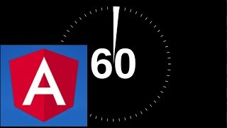 learn Angular5 (1 minute at a time!) tutorial. #38: creating our database