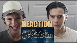 Fantastic Beasts: The Crimes of Grindelwald Official Trailer   Our Reaction