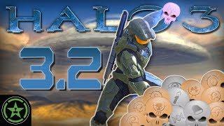 WRAITH CANNON TEAM KILL - Halo 3: LASO Part 3.2   Let's Play