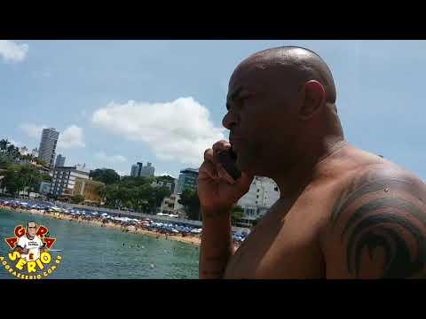 Repórter Favela está em Salvador e troca uma ideia com o Repórter do Mato