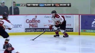 Blaine Vs. Maple Grove Girls High School Hockey