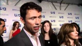 Jeffrey Donovan - Burn Notice - Upfronts 2011 - Interview