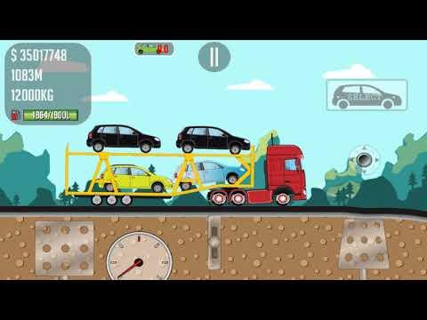 Trucker Joe transports cars to a car dealership