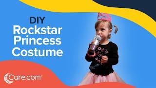 How To Make A Rockstar Princess Costume - Easy DIY Halloween   Care.com