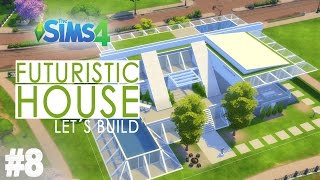 The Sims 4 - Let's Build A Futuristic House - (Finale)