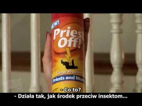 Klecha off - Priest Off (polskie napisy)