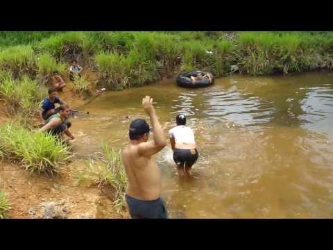Pescaria no Sítio do Mãe da Fome no Juquiazinho