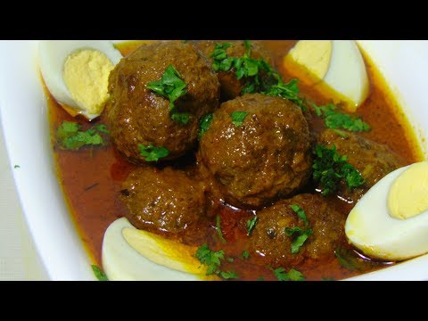 Kofta curry recipe – Beef kofta curry's – koftay ka salan – Meat balls recipe