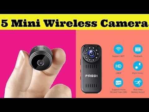 Top 5: Smart Mini Wireless WiFi CCTV Camera 2019 On Amazon - Best Spy Camera with WiFi Test