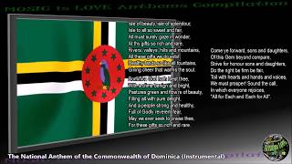 "Dominica National Anthem ""Isle of Beauty, Isle of Splendour"" INSTRUMENTAL with lyrics"
