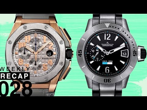 Weekly Recap: How Rolex and Audemars Piguet Overcame Weakness and Jaeger-LeCoultre Watches
