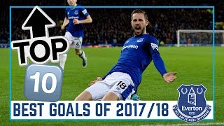 TOP 10: BEST EVERTON GOALS 2017/18