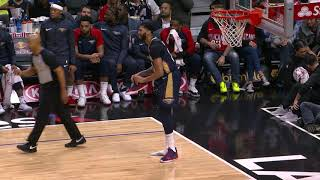 Patrick Beverley Gets Technical Foul For Taking Anthony Davis' Shoe To Los Angeles Clippers Bench