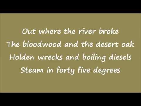 Lyrics Midnight Oil, bed are burning