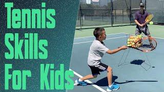 Beginner Tennis – Teaching The Essential Skills