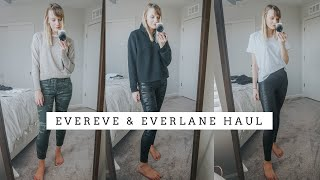 EVERLANE & EVEREVE First Impression Haul and Try-On