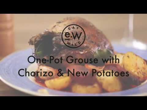 One Pot Grouse with Chorizo and New Potatoes
