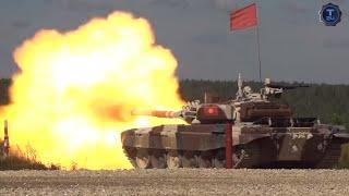 Смотреть онлайн Как происходят соревнования танкистов