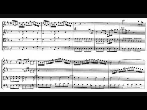 Mozart - Divertimento in D major, K. 136 (1772)