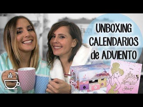 Unboxing de calendarios de adviento con mi hermana - ¡En bata y con sorteos!