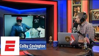[FULL] Colby Covington on keeping title, White House visit | Ariel Helwani's MMA Show | ESPN
