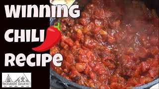 Winning Chili Cookoff Recipe Revealed