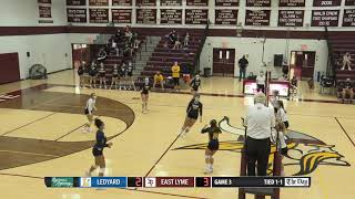 Volleyball highlights: East Lyme 3, Ledyard 1