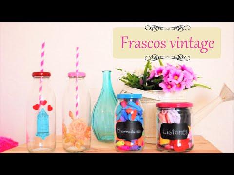 Frascos vintage - Nuria