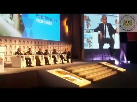 مباحثات المهندس/طارق قابيل وزير التجارة والصناعة خلال مؤتمر الاستثمار في افريقيا بشرم الشيخ