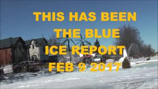 Cook's Bay Ice Report Feb 9