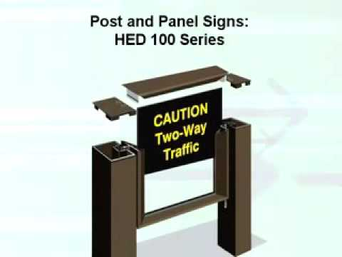 Post and Panel Sign Product Overview
