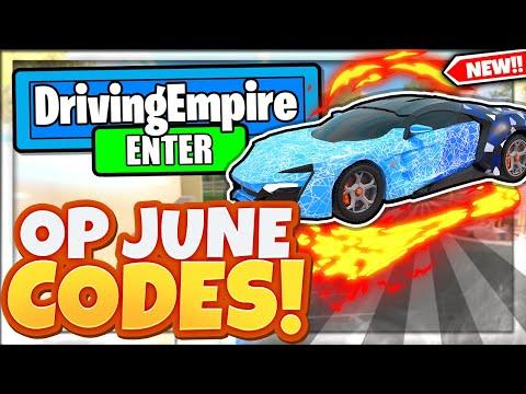 (JUNE 2021) ALL *NEW* SECRET OP CODES! Driving Empire Roblox Фото 2