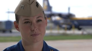 Blue Angels First Female Pilot Takes Flight