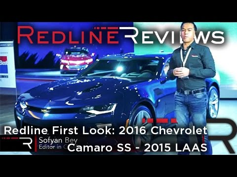 2016 Chevrolet Camaro SS – Redline: First Look – 2015 Los Angeles Auto Show