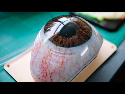 Making Realistic 3D Printed Fake Eyes