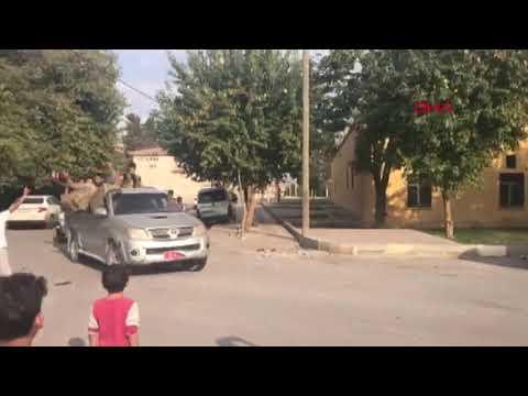 Suriye'nin Tel Abyad kentine SMO askerlerinin geçişi devam ediyor
