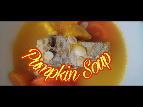 , title : 'HOW TO COOK A PUMPKIN SOUP WITH PORK IN CHINESE STYLE || ANN'S MIXED JOURNEY
