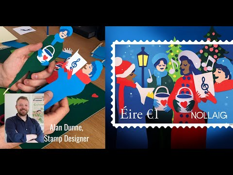 APS Stamp Chat: Alan Dunne, Irish Stamp Designer: Stamps from Concept to Product