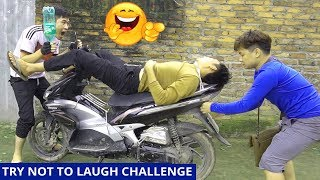 TRY NOT TO LAUGH CHALLENGE | Mosquito Prank | Comedy Videos by Sml Troll Ep.20